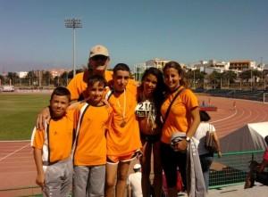 II Campeonato de Canaria de Menores en pista - Finaliza la competición con un oro una plata y dos bronces-