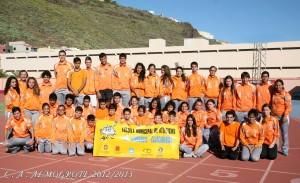 Presentacion C.A. Almogrote 2012-2013 Todo el Grupo