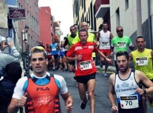 Iván Afonso Peraza, 7 clasificado en su categoria en la Media Maraton de Tacoronte -21-1-2013-