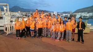 -Regreso de -XVIII Carrera Trofeo Corte Ingles- 14-12-2014-   1º Campeón Juvenil- Daniel Herrera y 3º Veteranos Ignacio Darias