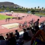 XXXV Juego Escolares de Atletismo 27-28 Mayo de 2017 - Estadio en Arona. en los relevos.