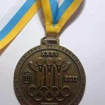 XXXV Juego Escolares de Atletismo 27-28 Mayo de 2017 en Arona-  Oro-Campeona de Canarias, triple salto Lucia Curbelo Barroso-