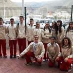 XXXV Juego Escolares de Atletismo 27-28 Mayo de 2017 en Arona- Salida desde S.S.Gomera a Los Crisitanos-