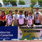 XXXV Juego Escolares de Atletismo 27-28 Mayo de 2017 en Arona- Selección Gomera