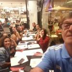 Campeonato Cadete y Juvenil aire libre y combinadas 10-11- junio 2017 - Ciudad deportiva Las Pâlmas de Gran Canaria Cena italiano casa Alosi