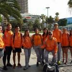 Campeonato Cadete y Juvenil aire libre y combinadas 10-11- junio 2017 - Ciudad deportiva Las Pâlmas de Gran Canaria plaza sta. Catalina rumbo estadio