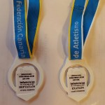 Oro de Lucia y Plata de Rebeca en las Combinadas . 10 y 11 de Junio de 2017. Ciudad deportiva Las palmas de Gran Canaria -