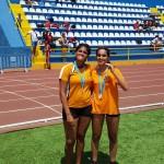 Oro de Lucia y Plata de Rebeca en las Combinadas . 10 y 11 de Junio de 2017. Ciudad deportiva Las palmas de Gran Canaria.