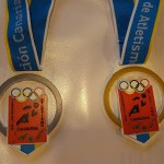 Oro de Lucia y Plata de Rebeca en las Combinadas  10 y 11 de Junio de 2017. Ciudad deportiva Las palmas de Gran Canaria