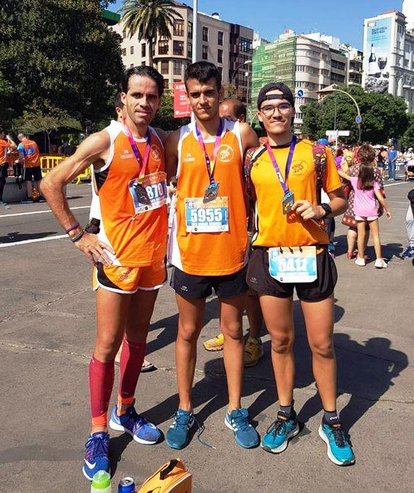 Maraton, Media Maraton y 8 km. Santa Cruz Tenerife 122-11-2017-.