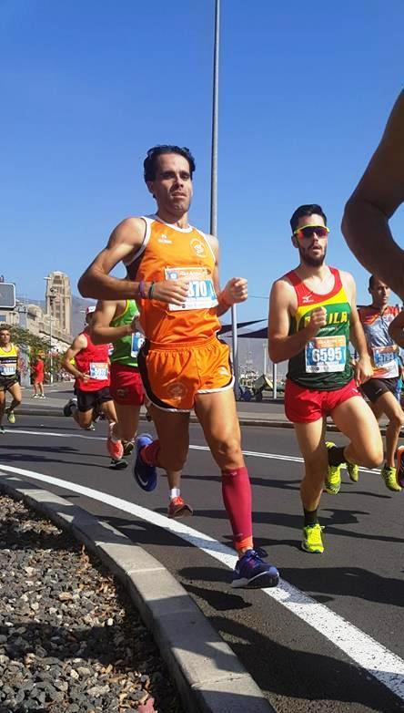 Maraton, Media Maraton y 8 km. Santa Cruz Tenerife 122-11-2017 ,