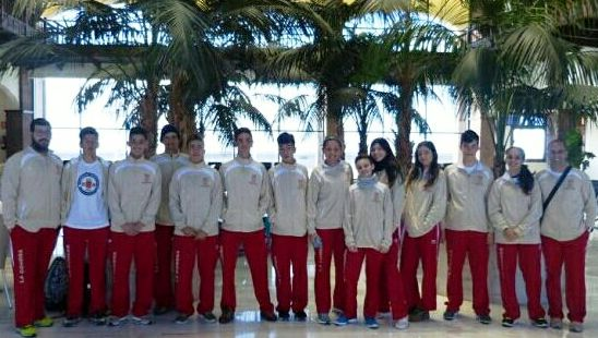 Capeonato Regional Campo a Traves Juegos Escolares. Seleccion gomera 04-02-2018- Tafira Gran Canaria