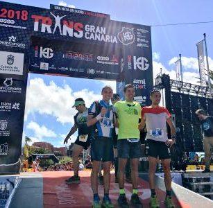 Cristofer-Clemente- 3º Clasificado y bronce en Transgrancanaria 125 km.- 24 de Febrero de 2018