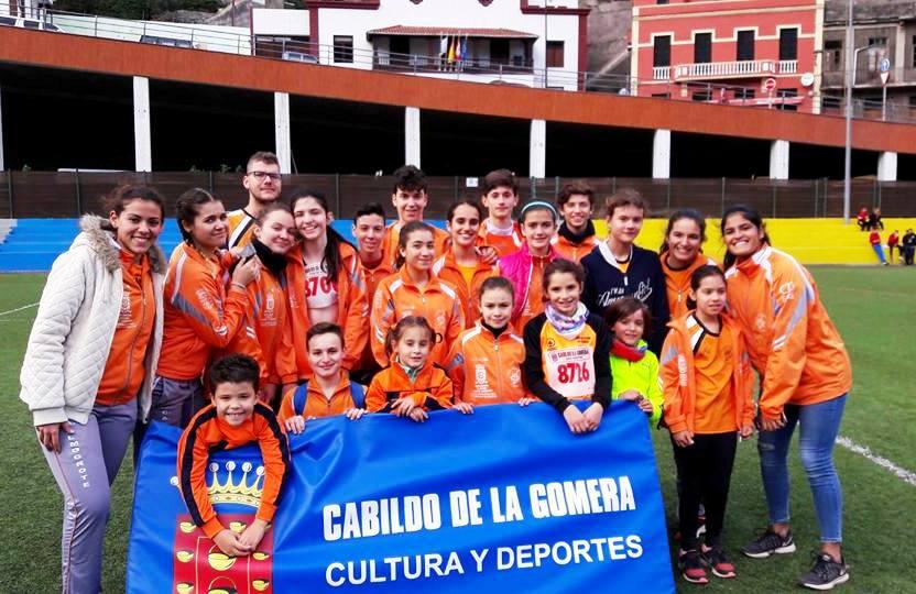 Hermigua Campeonato Insular cross 27-01-2018--.