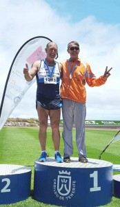 Decatlon 16 17 Junio de 2018 Tincer Tenerife Campeon de Canarias m 60 .