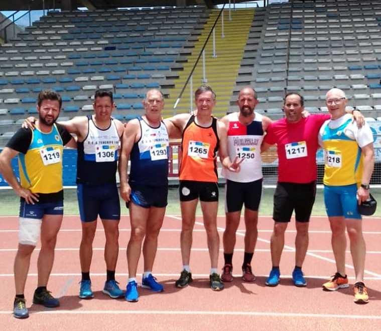 Decatlon 16 17 Junio de 2018 Tincer Tenerife Campeon de Canarias m 60.