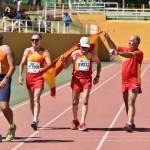 Campeonato del Mundo Master- en Malaga 4-16-09-2018 -M-60, Despues del  1.500  vuelta de honor a las pistas de los decatletas