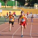 Campeonato del Mundo Master- en Malaga 4-16-09-2018 -M-60 en 100m.v. del decatlon