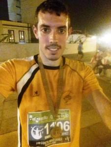 Ismael 6º General y 3º- bronce en su categoría senior en los 5 Km. En las Pruebas en la III Media Maraton nocturna y los 10 Km. En el Puerto de la Cruz el 13-10-2018.