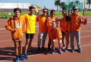 Campeonato de Canarias de Combinadas 12-13 01 2019 Martín Ferire- Ciudad Deportiva Las Palmas de G.Canaria