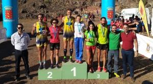 Campeones XXXIII Campeonato Canarias campo a tráves la Gomera 10-02-2019